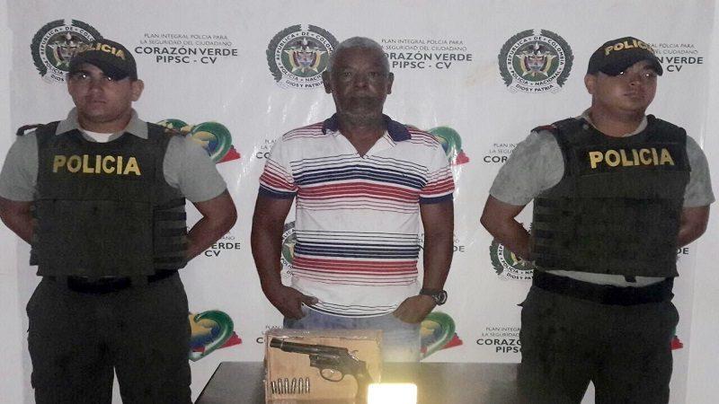 Capturan a un hombre por hacer disparos al aire en Sabanalarga