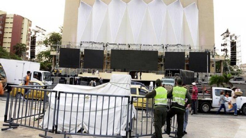 Cierres viales en Barranquilla por lanzamiento de los Juegos Centroamericanos en la Plaza de la Paz