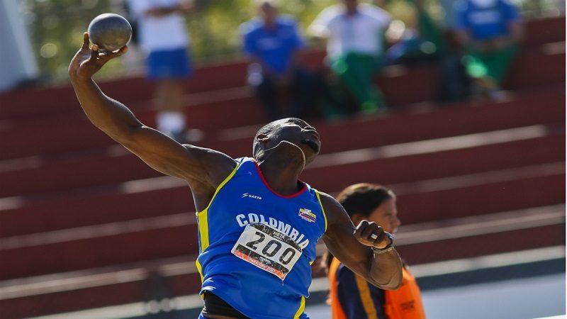 Colombia ganó medalla de bronce y récord sudamericano en Mundial de para-atletismo