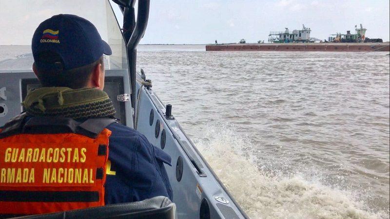 Desaparece buzo profesional en el canal de acceso al puerto de Barranquilla