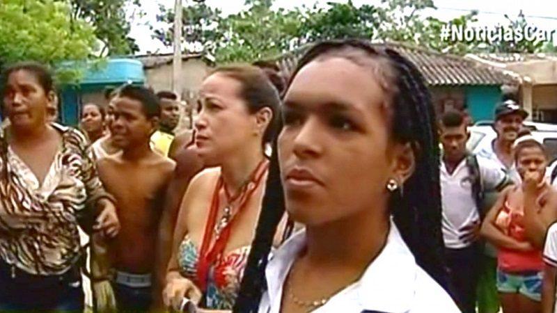 La joven transgénero que denuncia discriminación en su pueblo Villanueva, Bolívar