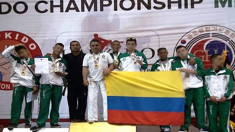 Oro, plata y bronce para jóvenes deportistas del ICBF en México