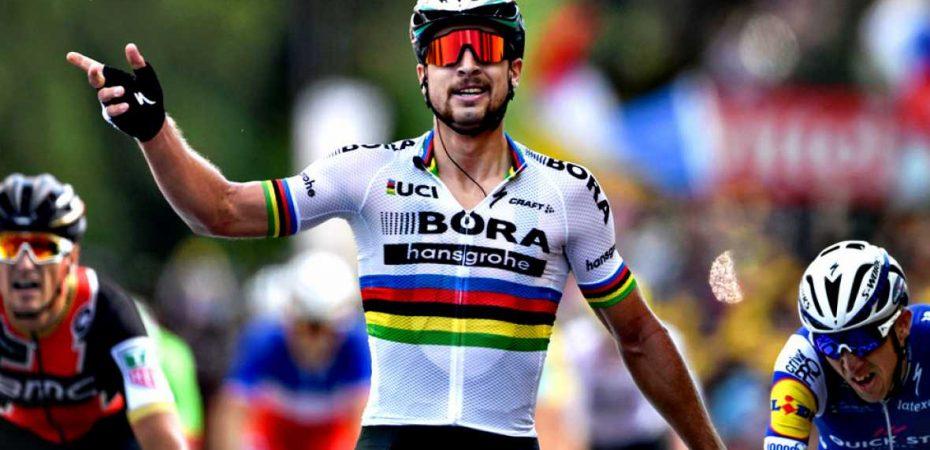 Peter Sagan fue el mejor en la tercera etapa del Tour de Francia