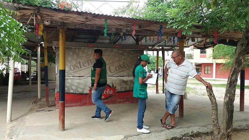 Por quejas en línea de WhatsApp, Distrito aplica correctivos sobre mal uso de espacio público