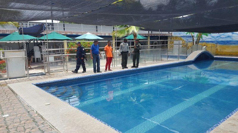 Sellan dos establecimientos de Sabanagrande por no cumplir con las normas de las piscinas