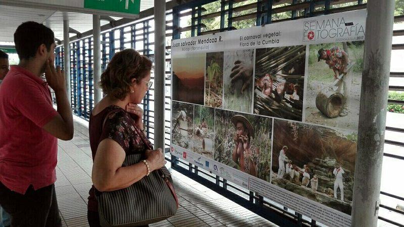Semana de la Fotografía 2017 se toma tres estaciones de Transmetro
