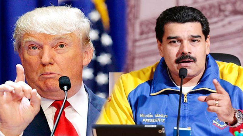 Trump sancionó a Maduro
