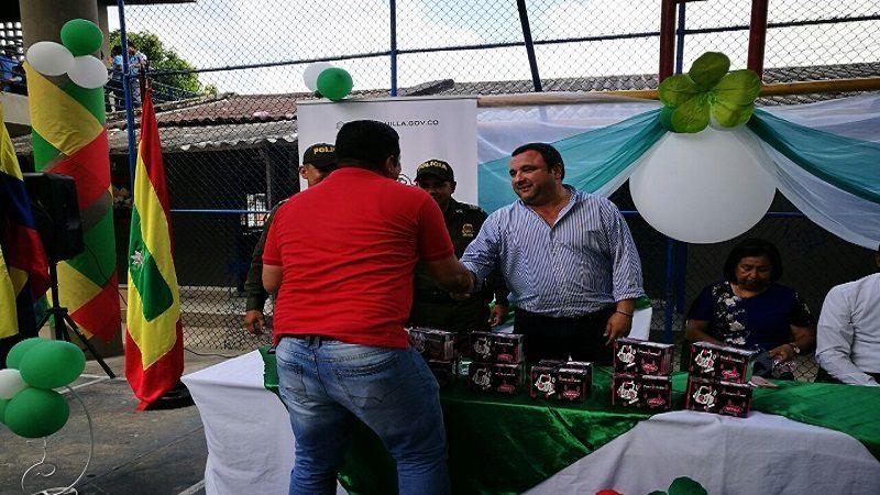 Ahora 40 colegios del Distrito de Barranquilla tienen línea directa con la Policía