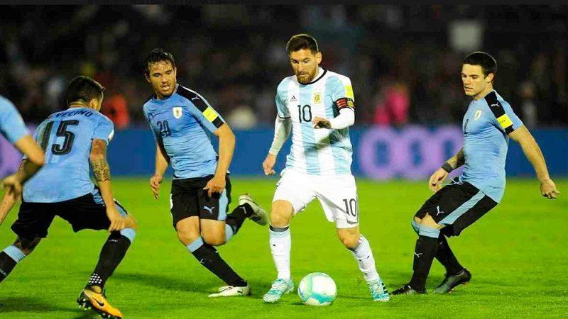 Argentina y Uruguay también empataron 0-0, en Montevideo