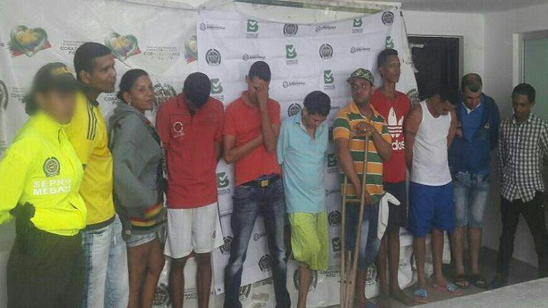 Cae banda 'Los Occidentales' que vendía droga en los alrededores de colegios en Barranquilla