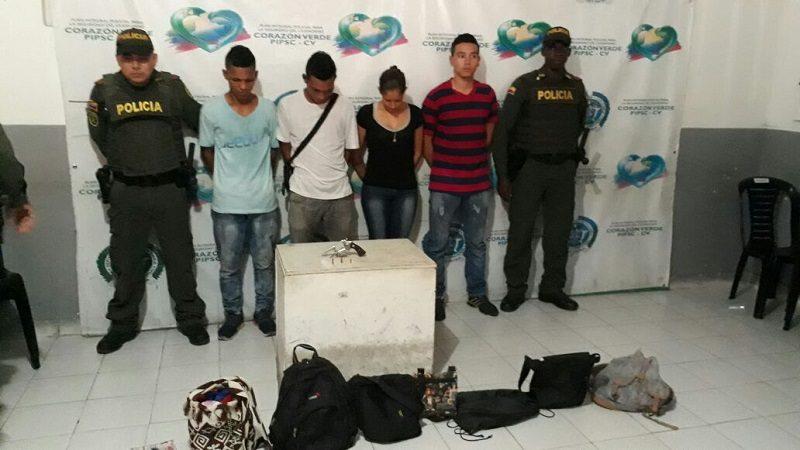 Capturan a 10 atracadores en Barranquilla y Malambo