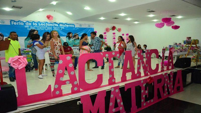 Con éxito se realizó la Feria de la Lactancia Materna en Soledad