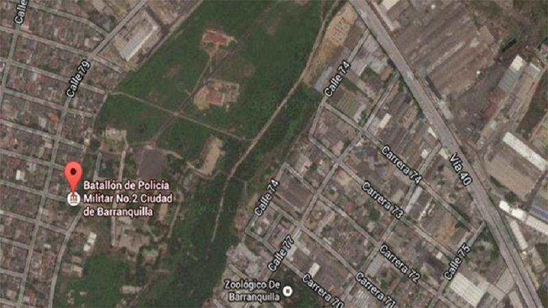 Distrito avanza en la construcción de un gran parque en el lote del Batallón Paraíso