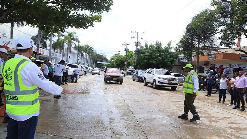 Distrito habilita el paso vehicular de la carrera 50 con calle 76