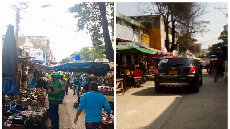 Distrito recupera calle que era ocupada por vendedores estacionarios en el Centro