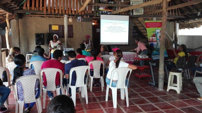 En su ruta turística, la Fundación Trabajo Para la Gente se toma a Palenque de San Basilio