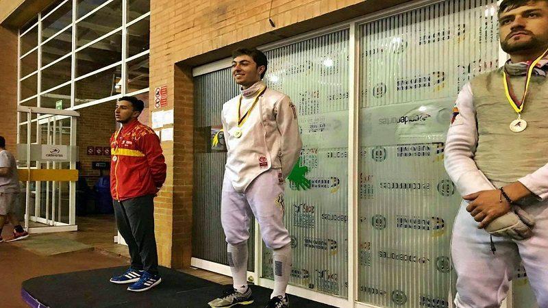 Esgrimista del Atlántico compite por cupo a Juegos Bolivarianos