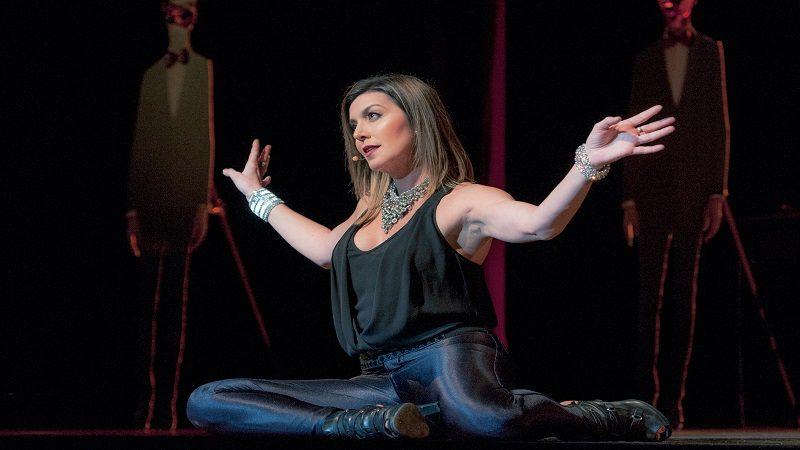 Isabella Santodomingo llega con su show a La Galería Plaza de la Paz