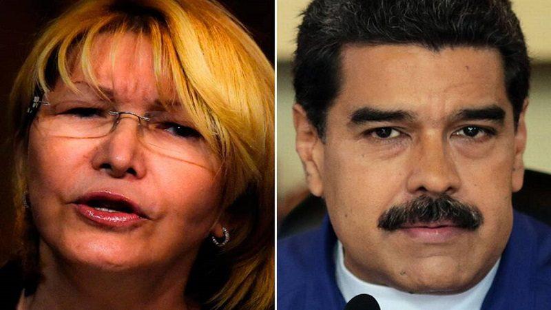 Maduro dice que solicitará a Interpol captura de exfiscal Luisa Ortega