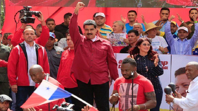 Maduro ordena ejercicio cívico-militar contra 'amenaza' de Trump