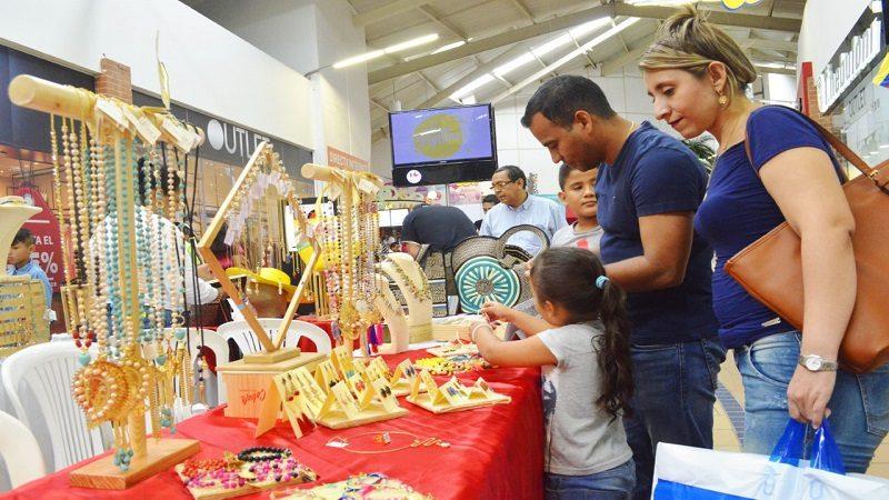 Microempresarias del Atlántico participaron en la Gran Feria Artesanal del Único