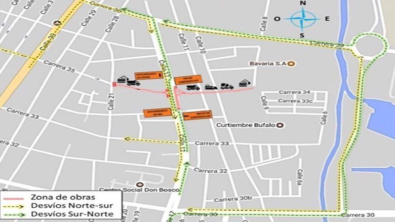 Por canalización del arroyo Hospital, cierre de vías desde a partir del miércoles 2 de agosto 1