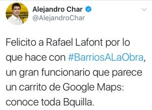 Rafael Lafont parece un carrito de Google Maps, conoce toda Barranquilla 1