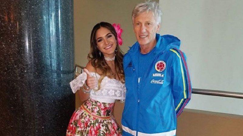 Reina del Carnaval da la bienvenida a la Selección Colombia a Barranquilla