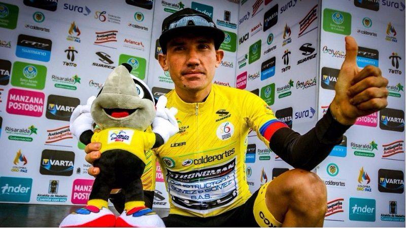 Santandereano Aristóbulo Cala, campeón de la Vuelta a Colombia