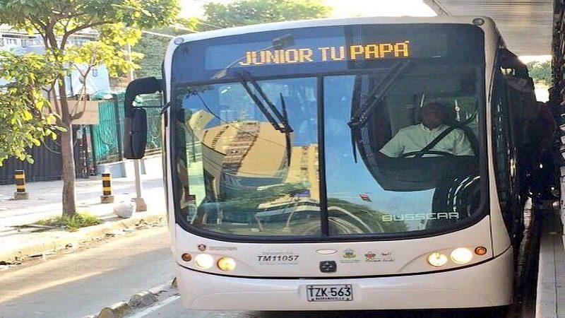 Transmetro anuncia operación habitual al finalizar partido de Junior vs Envigado