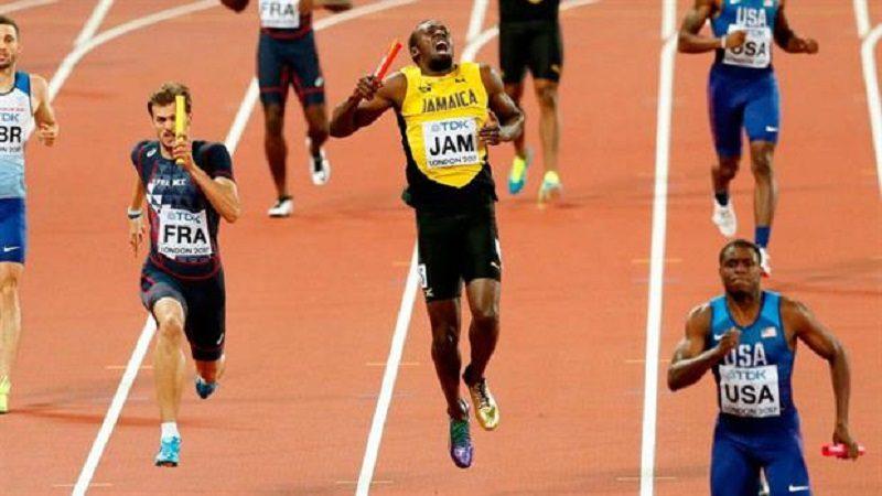 Usain Bolt se lesiona en su última carrera