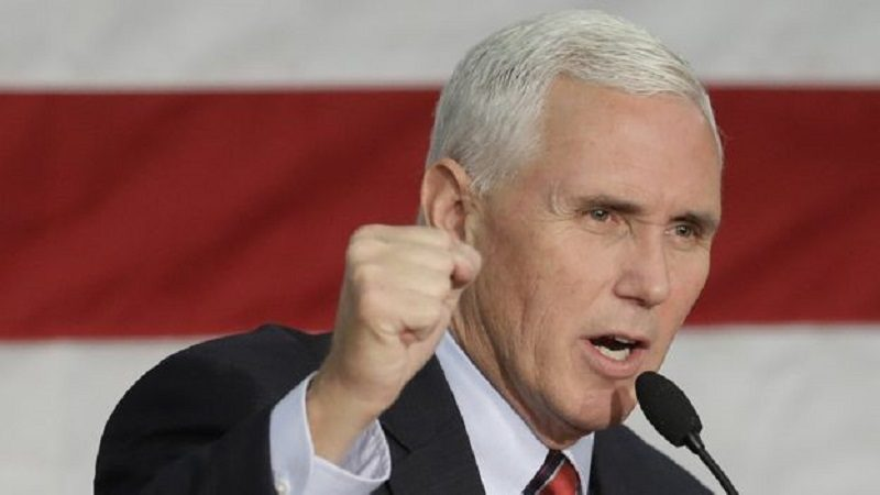 Vicepresidente de Estados Unidos, Mike Pence