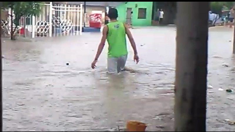 Aguacero de este jueves causa inundaciones en Barranquilla y Soledad