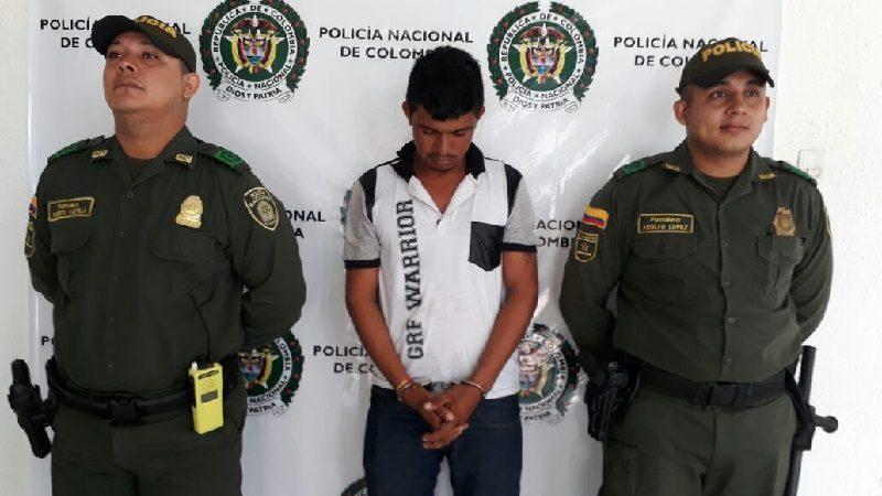 Capturan a hombre que le dio una golpiza a su esposa en Juan de Acosta