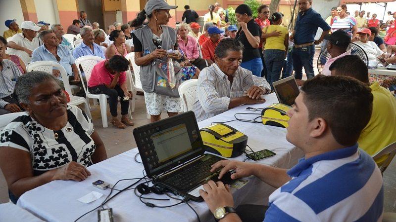 Desde este lunes 11 de septiembre, 4.066 adultos mayores reciben pago 'Colombia Mayor' en Malambo