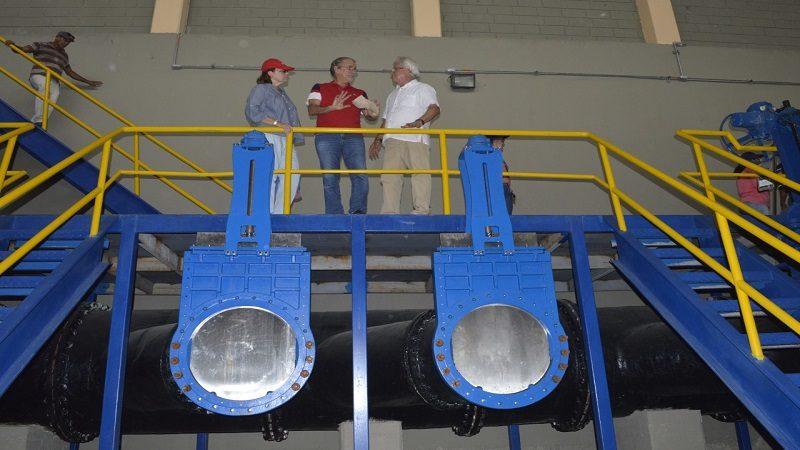 Entra en funcionamiento Estación de Bombeo de Aguas Residuales El Porvenir, en Soledad