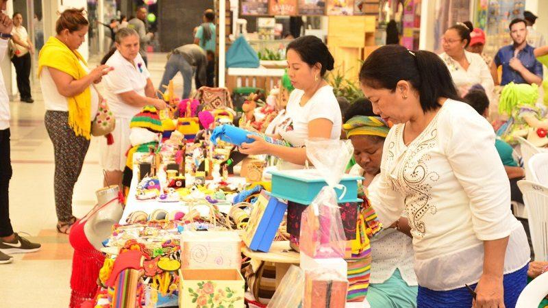 Los artesanos exhibirán sus productos hasta el 17 de septiembre.