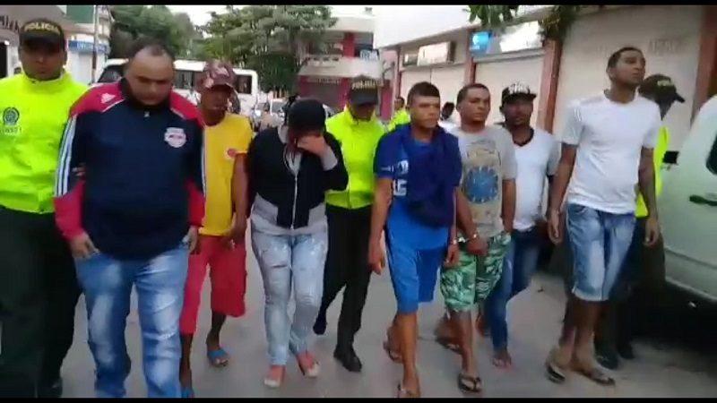 Policía desarticula a la temible banda 'Los 40 Negritos', por asesinatos y extorsiones