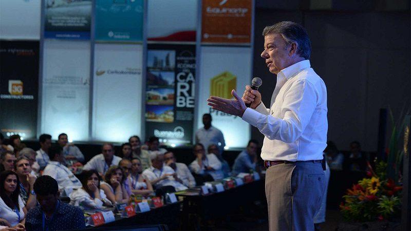 Santos anuncia más facilidades para comprar vivienda e impulso a la construcción