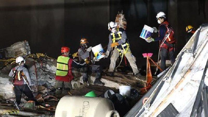 Sube a 331 el número de muertos por terremoto en México