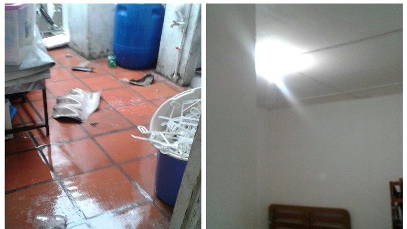 Vendaval destecha varias viviendas en el barrio La Floresta de Barranquilla