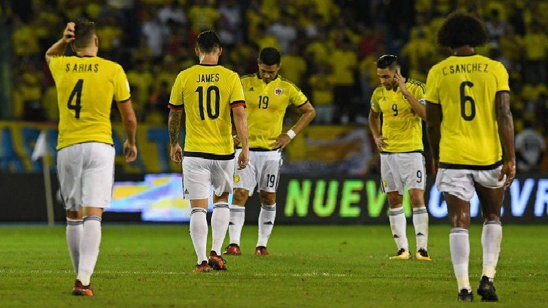 A Colombia se le complicó la clasificación, pero sí se puede