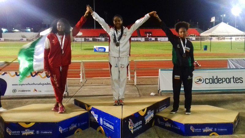 Atlántico gana oro, plata y bronce en atletismo de Juegos Supérate en Cali