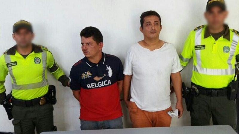 Capturan a dos que robaron a pasajeros de Transmetro en la estación 'Joe Arroyo'