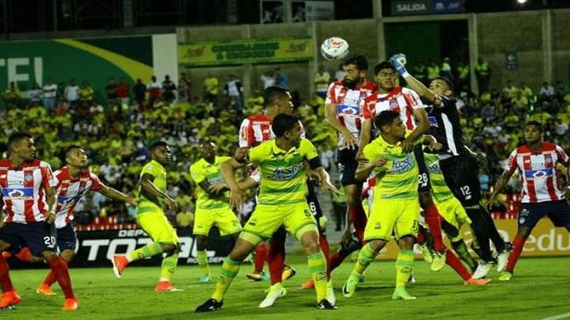 Con equipo alternativo Junior derrotó 3-0 al Bucaramanga