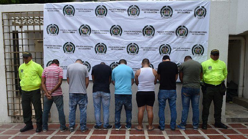 Desarticulan banda 'Los Veteranos' que robaba motos en Barranquilla y municipios del Atlántico