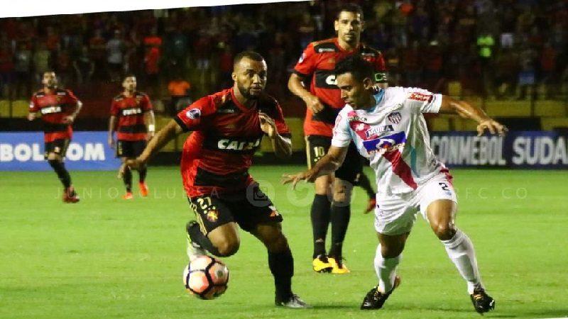 Junior derrotó 2-0 a Sport Recife en ida de Copa Sudamericana
