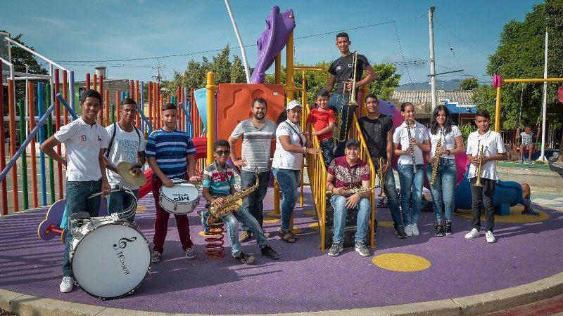 Más de 2.000 niños se forman con programas de formación artística de Santa Marta