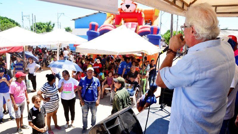 Más de 600 beneficiados con la feria 'Salutón' en el barrio Don Bosco de Soledad