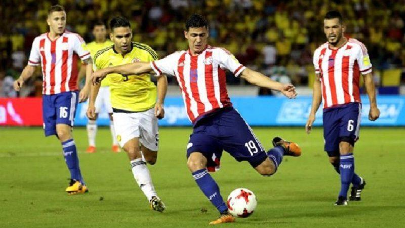 Paraguay sorprendió a Colombia y la venció 2-1 en el Metropolitano